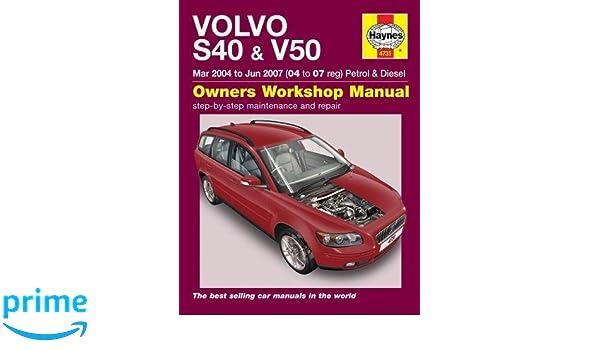 Volvo S40 & V50: Amazon.es: Haynes Publishing: Libros en idiomas extranjeros