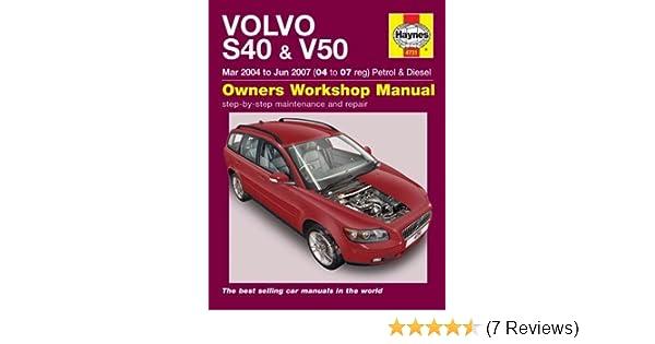 Volvo s40 v50 haynes publishing 9780857338952 amazon books fandeluxe Gallery
