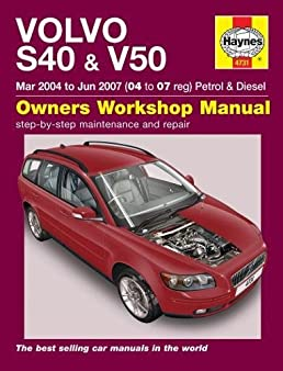 volvo s40 v50 haynes publishing 9780857338952 amazon com books rh amazon com Haynes Manual for Quads Clymer Manuals