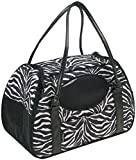 Cheap Gen7Pets Carry-Me Deluxe Zebra Pet Carrier for Cats and Small Dogs, Large