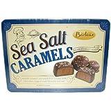 Bartons Sea Salt Milk Chocolate Caramels 10 oz in a Tin