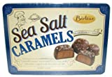 Bartons Sea Salt Milk Chocolate Caramels 10 oz in a Tin