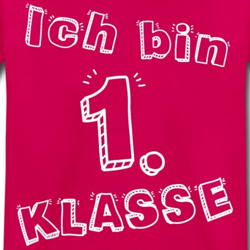 Klasse Schulanf/änger Kinder Premium T-Shirt Spreadshirt Einschulung Ich Bin 1