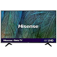"Hisense 58R6E Serie R6 58"" 4K UHD, Smart TV, Roku TV, HDR10, Roku Search, (2019) (58"") (Renewed)"