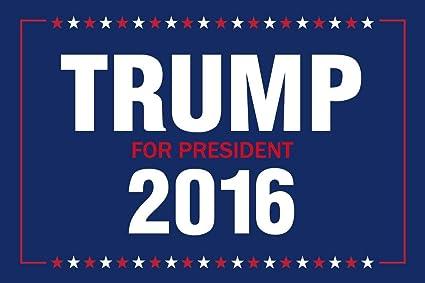 amazon com laminated vote trump for president 2016 presidential