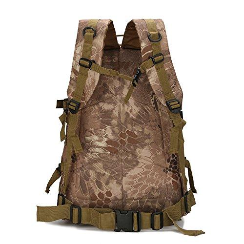 Oxford wasserdichte Taschen Armee Klettern Mini-Portable Angriff Taktik rucksack outdoor Tour von Camouflage 3D Rucksack, ACU-Nummer