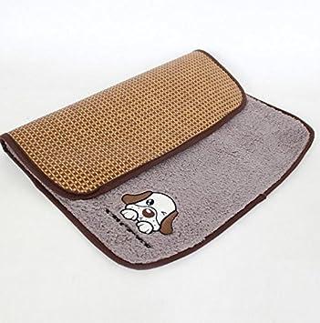 Lizes Alfombra de cama caliente para mascotas Alfombra para dormir de doble uso para enjuague de