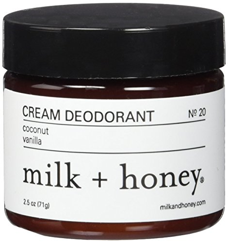 honey Deodorant Coconut Vanilla 2 5ounces product image