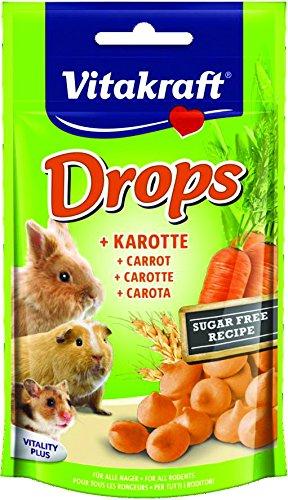 Vitakraft Rabbit Drops 75g (Flavour: Carrot)