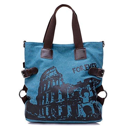 Aoligei Épaule oblique du version coréenne vintage sac à main sac Dame en toile B