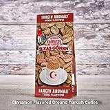 ilyas Gonen Dibek Ground Turkish Coffee/Plain Dibek and 19 Different Flavored (100g / 3,5oz) (Cinnamon Flavored Ground Turkish Coffee) -  Dibek Kuru Kahve