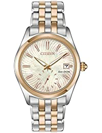 Watches Womens EV1036-51Y Eco-Drive Two-Tone One Size