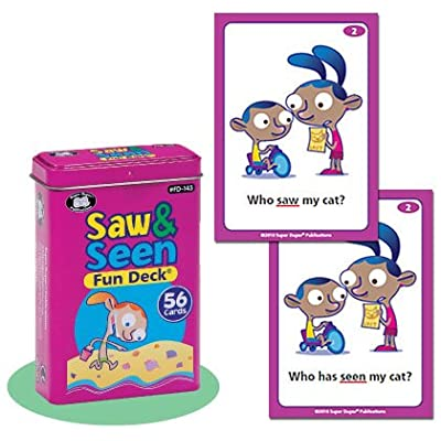 Saw & Seen Fun Deck Cards - Super Duper Educational Learning Toy for Kids: Toys & Games
