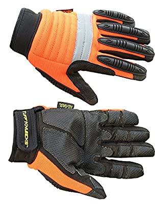 Kevlar Knuckle Reflective Metacarpal Impact Safety Work Gloves