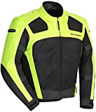 TourMaster Men's Draft Air Series 3 Jacket (Hi-Viz/Black, X-Large)