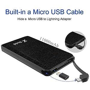 Amazon Com 11000mah Portable Charger Power Bank With