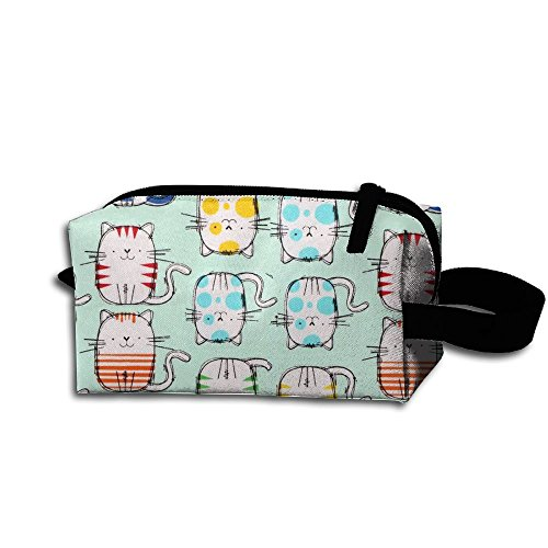 Small Travel Toiletry Bag Travel Kit Animal Painting Cats Cosmetic Bag Household Storage - Printables Sunglasses