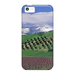 New Iphone 5c Cases Covers Casing(farm On The Hills)