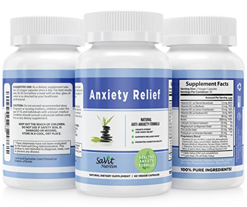 Supplement Supports Feelings Cognitive Anti Anxiety