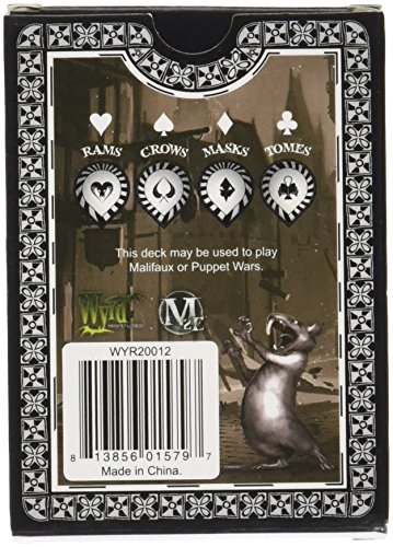 Wyrd Miniatures Black and White Arcane Fate Deck Model Kit 4