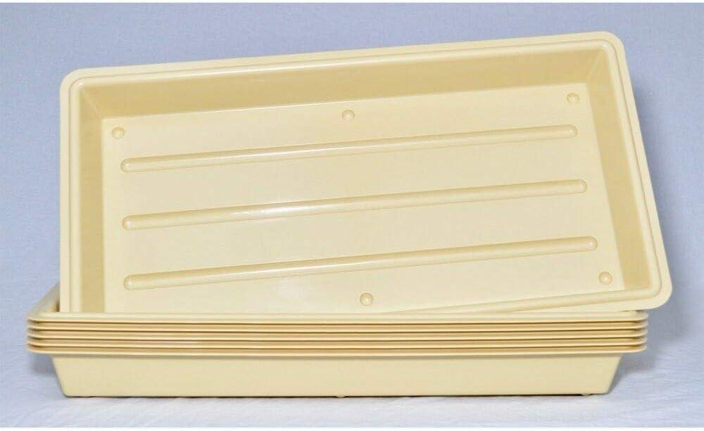 22x11 6 Count Perma-Nest Plant Trays Super Heavy Duty Greenhouse Trays