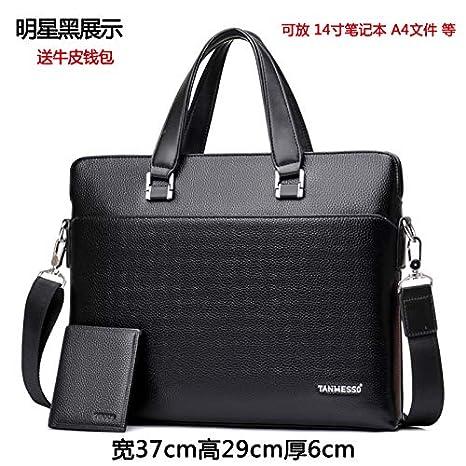 LIUXINDA-NS Mens Classic Fashion Mens Bag Tote Bag Business Bag Messenger Bag Shoulder Bag Briefcase Mens Bag Backpack