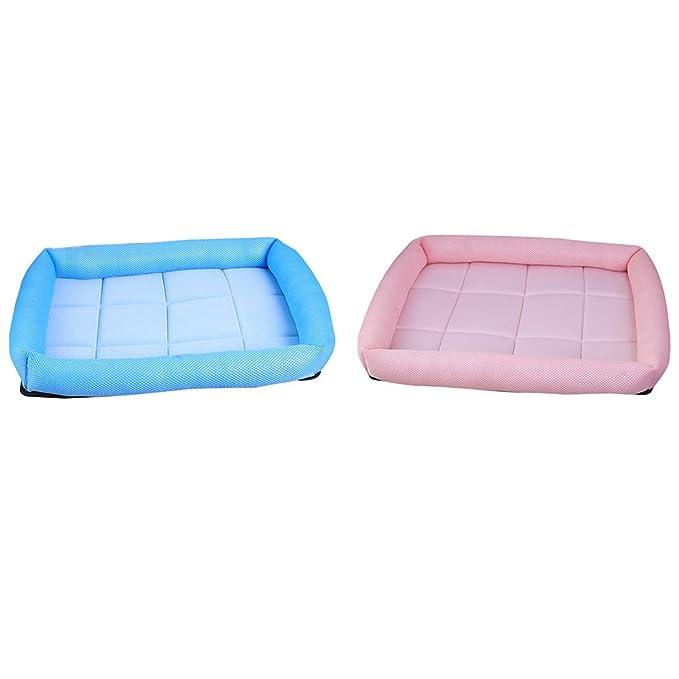 gepolstert komfortable K/ühlung Matte Kissen Sofa Cool Ice Silk Net Bett f/ür Hunde lulalula K/ühlung Pet Bett PET Sofa Bett Katzen oder Puppy