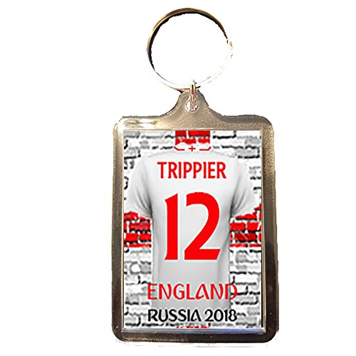Bourne Gifts World Cup 2018 Keyring - England (#12 TRIPPIER)