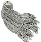 CUSTOM MADE ORDER IN ANY COLOR - Knitted by Hand PURE ALPACA Masterpiece Cable Scarf