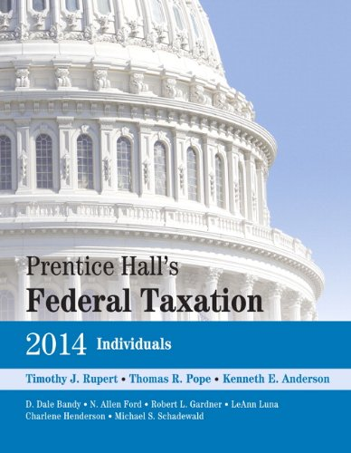 Prentice Hall's Federal Taxation 2014 Individuals (27th Edition) (Prentice Hall's Federal Taxation Individuals)
