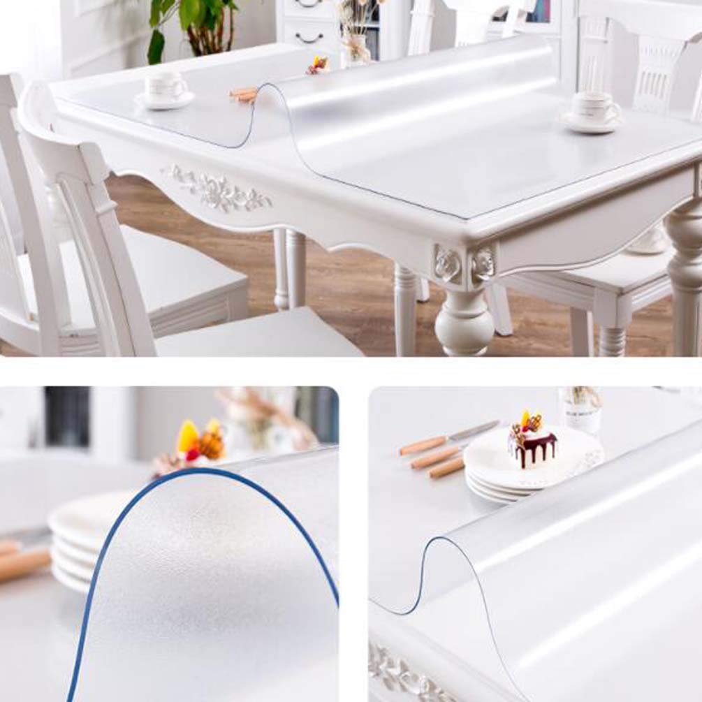 LISIANG Protector Mantel Transparente, PVC,Plastico,Impermeable ...