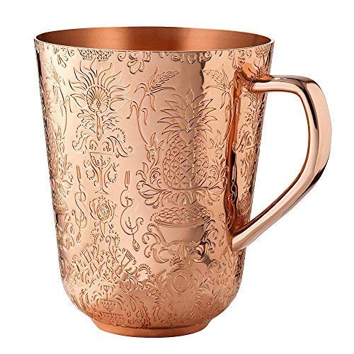 Elyx Boutique Copper Mule Cups Gift Set (set of 2) | Attach Heritage and Tradition to Your Classic Cocktail | Perfect Gift by Elyx Boutique (Image #5)