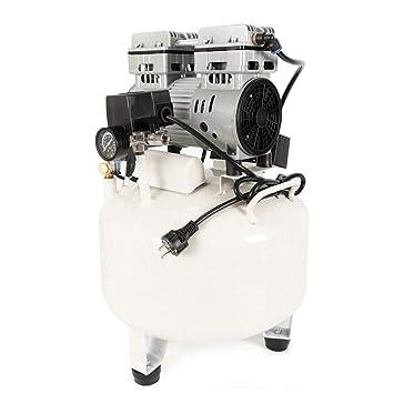 Yiiiby - Compresor de aire silencioso (850 W, 35 L, sin aceite): Amazon.es: Bricolaje y herramientas
