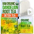 Dandelion Root Tea Detox Tea Raw Organic Vitamin Rich Digestive 1 Pack 20 Bags 2 Grams Each Helps Improve Digestion And Immune System Anti Inflammatory And Antioxidant