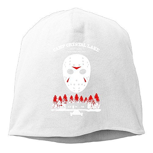 Jason Voorhees Without Mask (Beanies Hats Wool Beanies Cap Knit Hat/Cap For Men Or Women Unisex - Camp Crystal Lake)