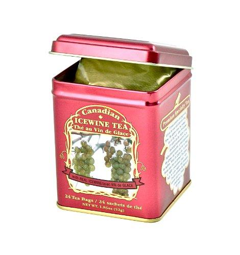 Canadian Icewine Tea in Decorative Tin, 24 Bags