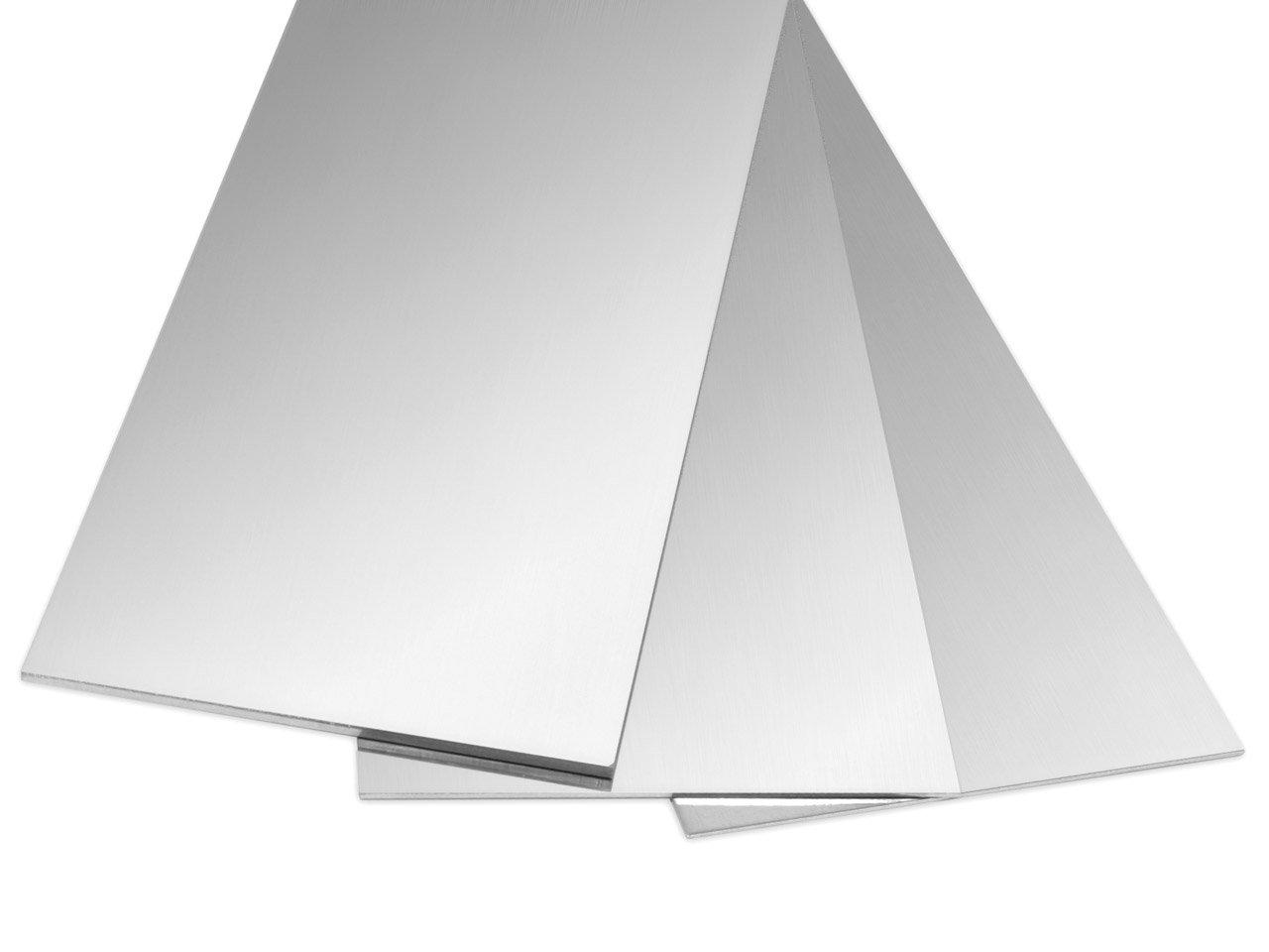 6''x1'' Fine .999 Silver Sheet, 22 Gauge Dead Soft, Made in USA by Bedrock Jewelry