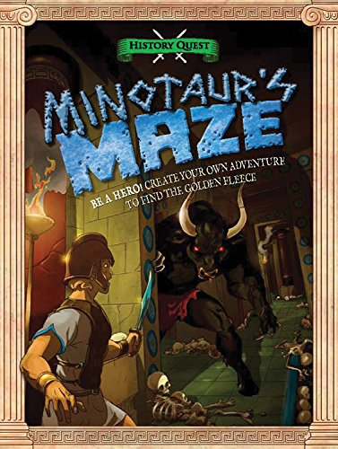 Minotaur's Maze (History Quest) (Theseus And The Minotaur Myth For Kids)