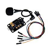 Geeetech High Sensitivity Voice Recognition Module with Microphone & Jumper wires for Arduino