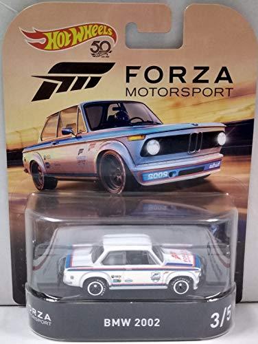 BMW 2002 White Hot Wheels HW Forza Motorsport Retro Series 1