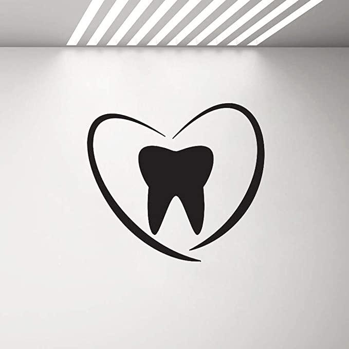 zqyjhkou Clínica Dental Tatuajes de Pared Dentista Sonrisa Dientes ...