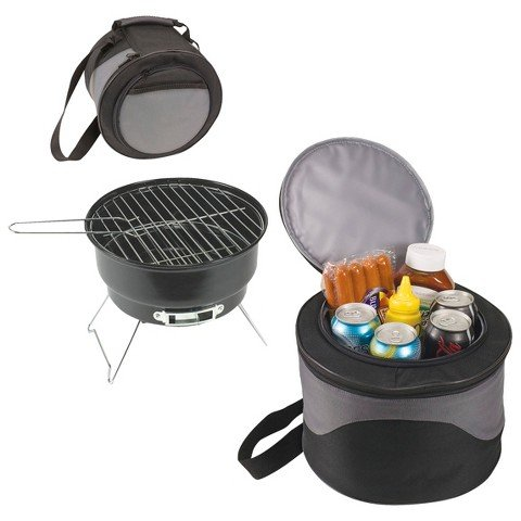 - iBasics 2 in 1 Portable BBQ Grill and Cooler Bag
