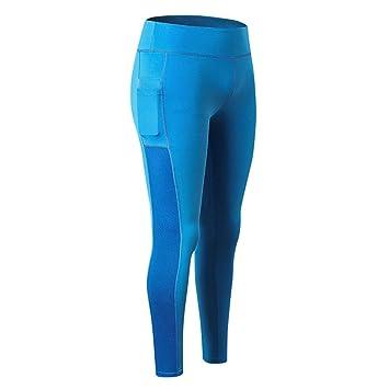 LeeMon - Pantalones de Yoga para Mujer y niña, con Cintura ...