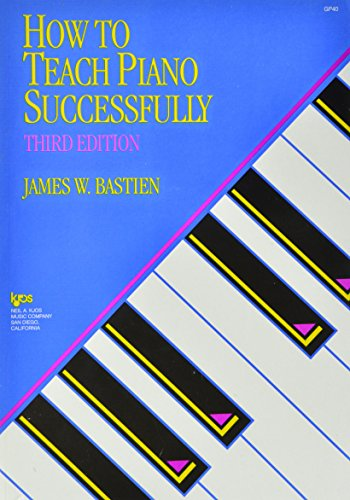 GP40 - How to Teach Piano Successfully - Bastien