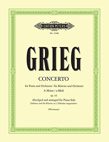 Grieg Piano Concerto Sheet Music - 4