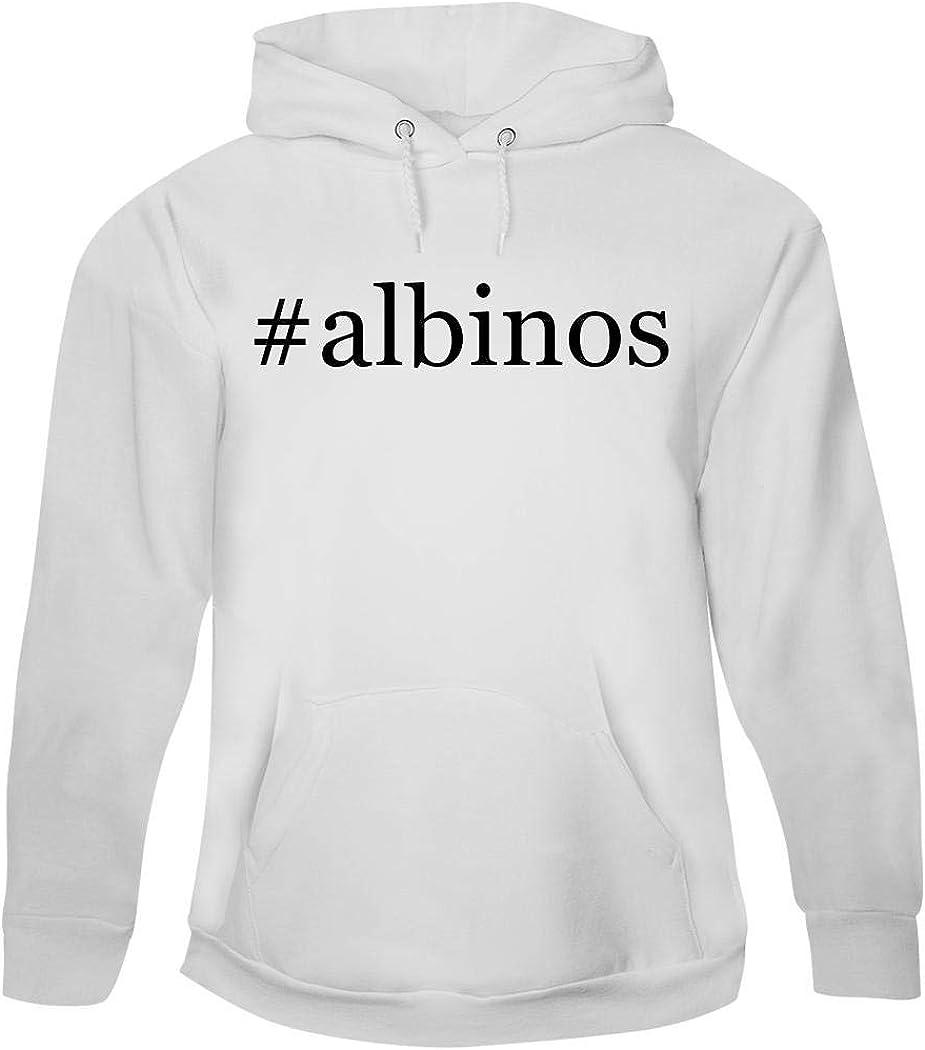 #albinos - Men's Hashtag Pullover Hoodie Sweatshirt, White, X-Large 51rzS4GtnuL