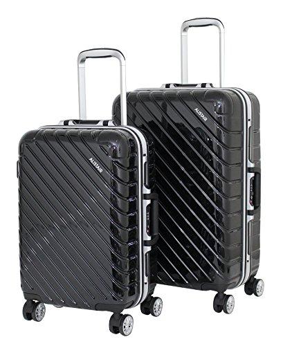 """Juego de 2 maletas de cabina y media Alistair """"infinito"""" – ABS ultra ligero – 4 ruedas"""