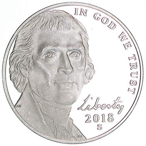 2018 S Jefferson Nickel Gem Deep Cameo Proof