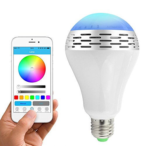 Toprime Bluetooth Dimmable Multicolored Changing