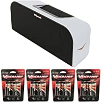 Klipsch Music Center KMC 3 Portable Speaker System White (1016240) with 8x D Batteries